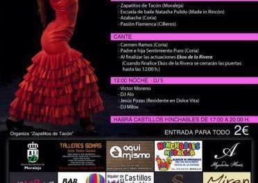 El Grupo Flamenco Zapatitos de Tacón de Moraleja celebrará este sábado un festival solidario