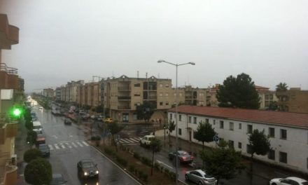 El Centro 112 declara alerta amarilla por lluvias durante este martes en el norte de la provincia de Cáceres
