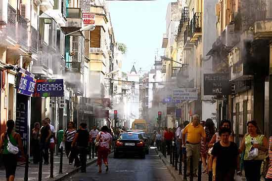 El centro comercial abierto del Casco Antiguo pacense contará con un sistema de difusión de aromas