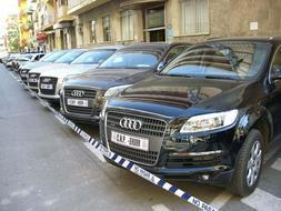 Recuperan en Cáceres y Badajoz vehículos de alta gama robados en Italia y valorados en 600.000 euros