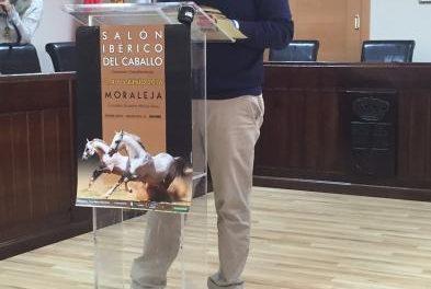 El Campeón Nacional de Doma Vaquera, Diego Peña, apadrinará el I Salón Ibérico del Caballo de Moraleja