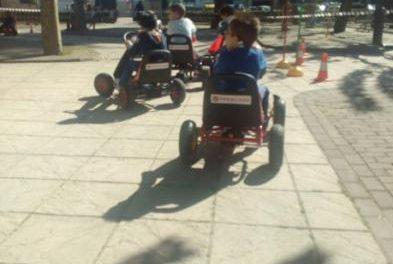 Más de 150 niños de Moraleja participan en el circuito del Programa de Seguridad Vial