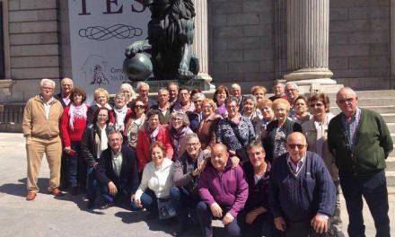 El Hogar del Pensionista de Moraleja organiza una visita a Madrid para conocer el Congreso de los Diputados
