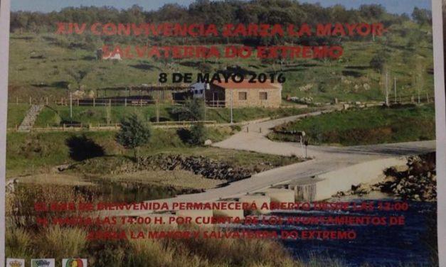 Zarza la Mayor y Salvatierra do Extremo reafirmarán su hermanamiento con un día de convivencia en La Rivera