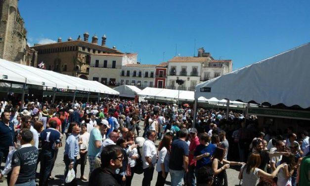 La XXXI Feria Nacional del Queso de Trujillo cierra sus puertas con un incremento de visitantes