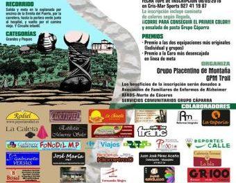 Plasencia celebrará este domingo el XIII Cross Popular Camino del Puerto con carácter solidario