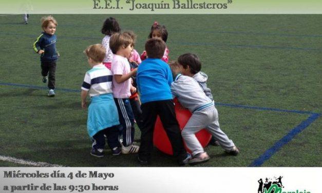Alumnos del Colegio Joaquín Ballesteros de Moraleja disfrutarán este miércoles de las Pequeolimpiadas