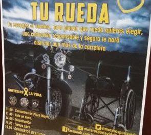 Varios clubes moteros de la región ponen en marcha una campaña de concienciación sobre seguridad vial