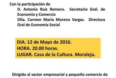 El consistorio de Moraleja acercará acciones de mejora de negocios a los empresarios locales y de la comarca