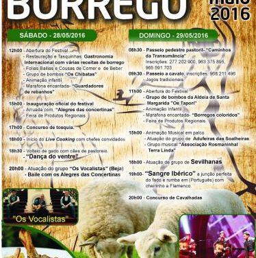 La localidad lusa de Rosmaninhal acogerá el próximo fin de semana el IX Festival del Borrego