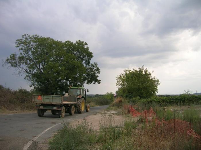 Los agricultores piden la mejora y limpieza de la carretera que une La Moheda de Gata y Huélaga