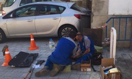 Coria continúa con los trabajos de soterramiento de cableado en las calles del casco histórico