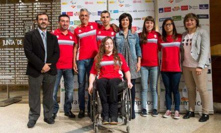 Gutiérrez presenta a los deportistas  preseleccionados para los Juegos Paralímpicos de Río de Janeiro