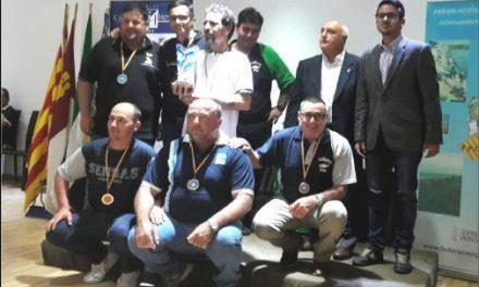 La Unión de Pescadores de Plasencia logra la medalla de bronce en el XXV Campeonato de España de Agua Dulce
