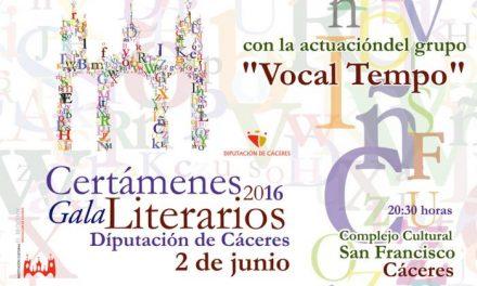 Diputación repartirá 30.000 euros en los Premios de Novela, Cuento, Posía, Microrrelato y Periodismo
