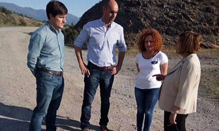 Diputación acometerá obras de mejora en la carretera de Granadilla por un importe de 350.000 euros