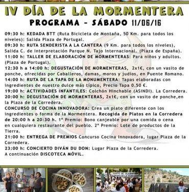 Alcántara promomocionará su gastronomía con la celebración el 11 de junio del IV Día de la Mormentera
