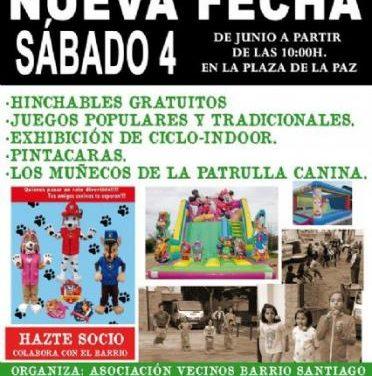 La Asociación de Vecinos del Barrio de Santiago de Coria celebrará el sábado la II Jornada de Juegos Populares