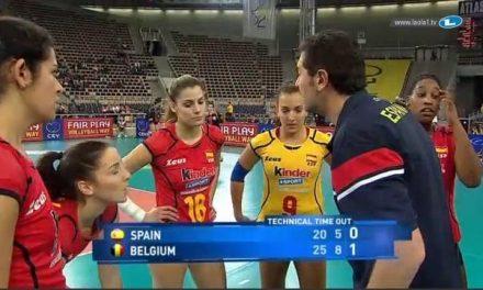 La Selección Española de Voleibol convoca a la deportista moralejana Alba Sánchez para la Liga Europea