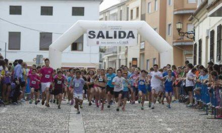 Los atletas de Torrejoncillo, Andrea Testón y David Moreno, ganan el XXXII Cross Urbano de Coria