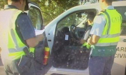 La Guardia Civil y la Guardia Portuguesa identifican a los presuntos autores del robo en una finca de Alcántara
