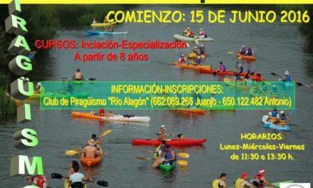 El club de piragüismo de Coria pondrá en marcha su escuela deportiva a partir del 1 de julio