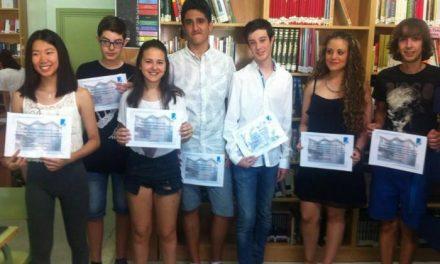 El IES Jálama de Moraleja premia a siete alumnos por obtener los mejores expedientes académicos