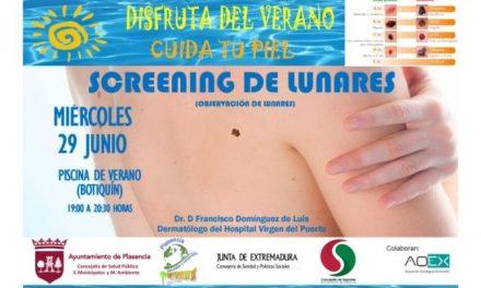 La piscina municipal de Plasencia lanza de nuevo una campaña de prevención contra el cáncer de piel