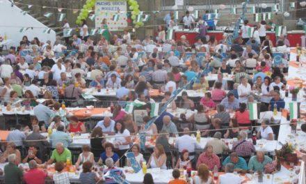 Cerca de 600 personas participan en la cena organizada por Acebo en agradecimiento a  Moraleja
