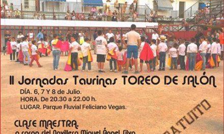 Moraleja acogerá desde este miércoles y hasta el viernes las II Jornadas Taurinas de Toreo de Salón