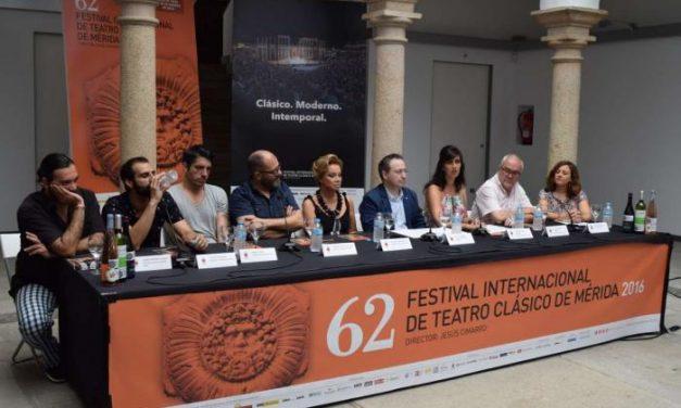 La secretaria general de Cultura destaca el papel de la mujer en el 62º Festival de Teatro Clásico de Mérida