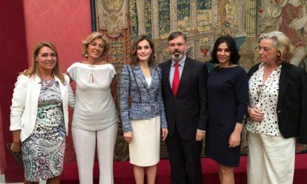 El consistorio de Plasencia recibe de manos de la Reina Letizia el Premio de Accesibilidad Universal