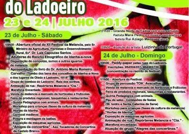 El municipio luso de Ladoeiro, en Idanha-a-Nova, celebrará los días 23 y 24 el XII Festival de la Sandía