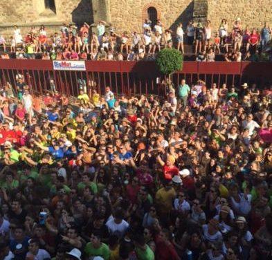 Moraleja dará comienzo este miércoles a las fiestas de San Buenaventura con la charanga del agua