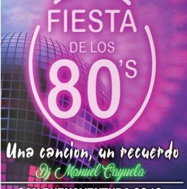 Una fiesta temática acercará la música de los años 80 a los vecinos de Moraleja en la noche del viernes al sábado