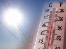 La zona del Alagón permanece en alerta naranja por altas temperaturas este lunes