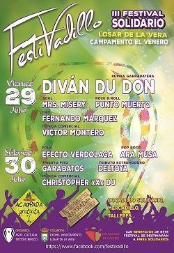 La localidad cacereña de Losar de La Vera acoge la III edición del festival solidario el Festivadillo