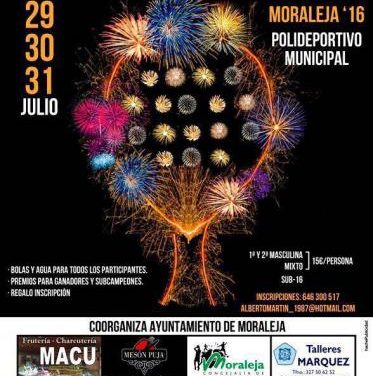 El polideportivo municipal de Moraleja acogerá del 29 al 31 de este mes el V Torneo de Pádel San Buenaventura