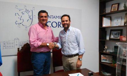 Coria renueva el convenio de colaboración con la Federación Extremeña de Personas Sordas