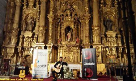 La Iglesia Santiago Apóstol de Coria acogerá los conciertos diarios del XX Festival de Guitarra