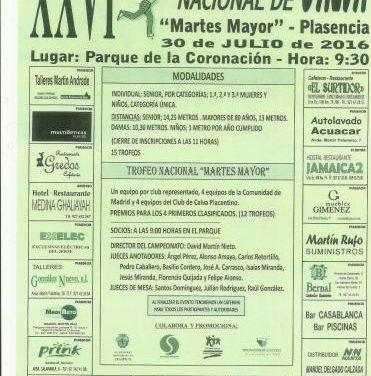 El Club de Calva placentino organiza la XXVI edición del Campeonato y Liga Nacional de Calva el próximo sábado