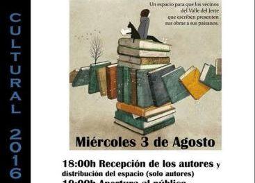 La localidad de Jerte celebra este miércoles la I Feria del Libro Local con autores del Valle del Jerte