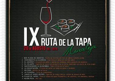 La IX Ruta de la Tapa llegará a Moraleja el 20 de agosto con la participación de once establecimientos