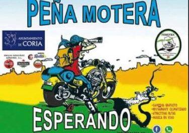 """La peña cauriense """"Esperando"""" trabaja ya en la organización de su tradicional ruta motera"""