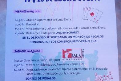 La Asociación de Vecinos Vera-Elena de Plasencia organiza la XXIV edición de las Fiestas de Santa Elena
