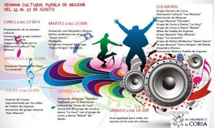 El Grupo Rociero Infantil de Coria inaugurará este lunes la semana cultural de Puebla de Argeme