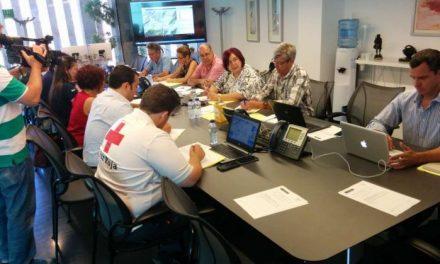 La Junta agradece la labor de los efectivos que trabajan en la extinción de los incendios del Valle del Jerte y Gata
