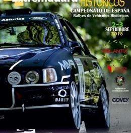 El IV Rallye de Extremadura Histórico recorrerá la Vera y el Valle del Jerte los días 2 y 3 de septiembre