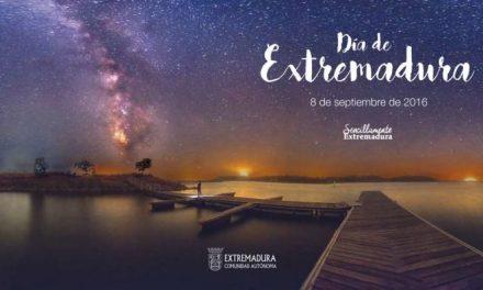 Portugal y el agua como recurso turístico son los protagonistas del cartel del Día de Extremadura