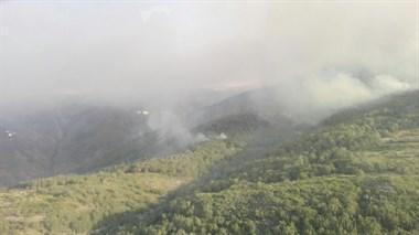 El Plan de Lucha contra los Incendios Forestales da por estabilizado el incendio de Garganta la Olla